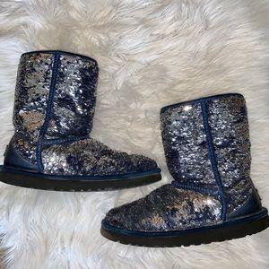 Best 25+ Deals for Blue Sequin Ugg Boot